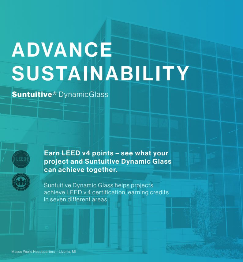 Suntuitive and LEED